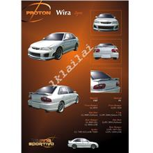 Proton Wira Syms FRP - Body Kit