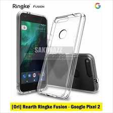 [Ori] Rearth USA Ringke Fusion Shield for Google Pixel 2 (Clear)