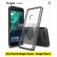 [Ori] Rearth USA Ringke Fusion Shield for Google Pixel 2 (Smoke Black)