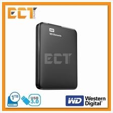 Western Digital 1TB Elements USB 3.0 Portable External Hard Disk Drive