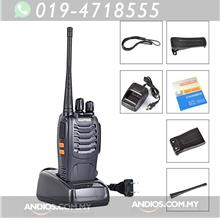 BAOFENG BF-888S UHF FM Transceiver Flashlight Walkie Talkie Two Way Ra
