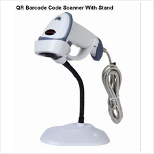 QR 2D Barcode Scanner Point Of Sales System With Stand