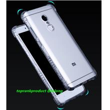 Xiaomi Redmi Note 4 4X Transparent TPU Armor Back Case Cover Casing