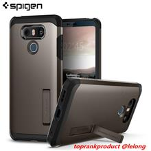 100% Original Spigen SGP LG G6 Tough Armor Back Case Cover Casing