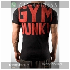 Gym Junk Top Muscle Clothes Tee Shirt