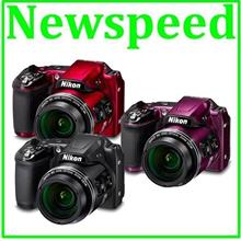 Nikon Coolpix B500 40X Optical Zoom Digital Camera +8GB+Bag (MSIA)