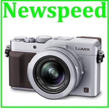 Panasonic Lumix DMC-LX100 Silver + 16GB +Leather Case(1+1 Wrty MSIA)