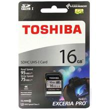 Toshiba 16GB SD Card EXCERIA™ PRO Memory card 95MB