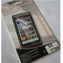Enjoys: High Quality LCD Screen Protector for BlackBerry Bold2 9700