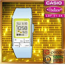 CASIO POPTONE LDF-51-2ADR WATCH ☑ORIGINAL☑