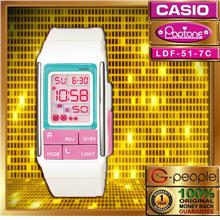 CASIO POPTONE LDF-51-7CDR WATCH ☑ORIGINAL☑