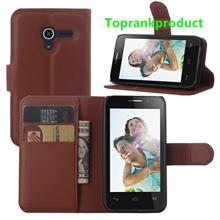 Alcatel One Touch POP D3 OT-4035X Flip PU Leather Case Cover Casing