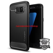 100% Spigen Samsung Galaxy S7 / Edge Rugged Armor Case Cover Casing