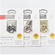 Premium Rotate Mobile Phone Stand Metal Ring Stent iPhone 8 Note8 *XPD