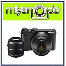NEW Nikon 1 J5 With 10-30mm + 30-110mm Lens (Black) + 8GB + Bag