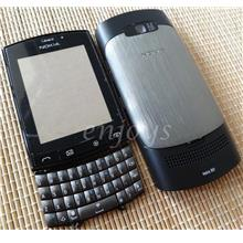 Enjoys: AP ORIGINAL HOUSING CASING for Nokia Asha 303 ~BLACK #FULL SET