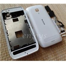 Enjoys: AP ORIGINAL HOUSING CASING Nokia 603 N603 ~WHITE ~#FULL SET#