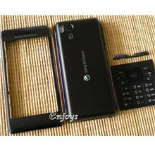 Enjoys: AP ORIGINAL HOUSING Sony Ericsson Aino ~ BLACK ~ ##Full Set##