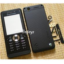 Enjoys: AP ORIGINAL HOUSING Sony Ericsson W302 ~ BLACK~ ##Full Set##