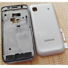 Enjoys: Real ORIGINAL HOUSING for Samsung I9003 Galaxy SL ~WHITE @NEW