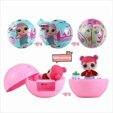 LOL Surprise Magic Funny Removable Egg Doll Toy with Match Accessories