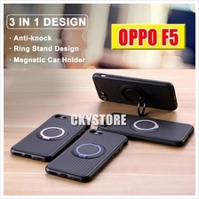 OPPO F5 IFACE Magnetic with Ring Standable SLIM Case