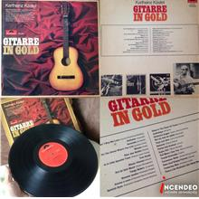 **incendeo** - Gitarre In Gold Collectible Vinyl LP Record
