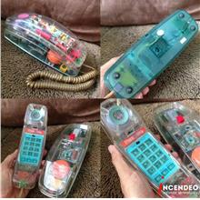 **incendeo** - Vintage UNISONIC Phone Works 2 See-Through Phone