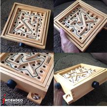 **incendeo** - Wooden LABYRINTH Game