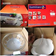 **incendeo** - LUMINARC France 24cm 3L Vitroflam White Cookware
