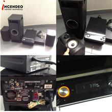 **incendeo** - PIONEER DVD/CD Receiver Home Theatre XV-CX303-K