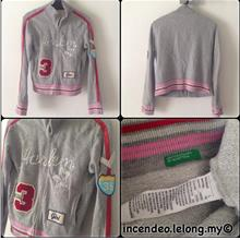 **incendeo** - Authentic UNITED COLORS OF BENETTON Jacket for Girls)