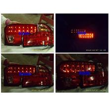 Proton Wira Double LED Tail Lamp All Red  [Modify LED]