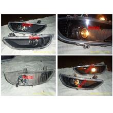 DEPO Toyota Camry '04 ACV30 CCFL Ring Projector Fog Lamp [Black]