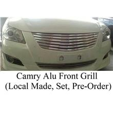 Toyota Camry '06 Aluminium Front Grille + Bumper Grille