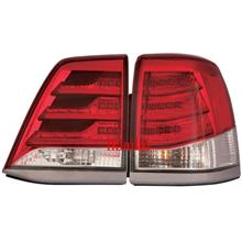 DEPO Toyota Landcruiser FJ200 '13 LED Tail Lamp Red/Clear [LX570 Look]
