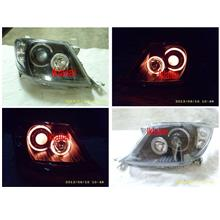 Toyota Hilux Vigo '04 Projector Head Lamp [Red CCFL & Angle Eye]
