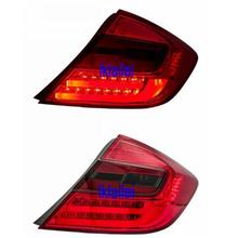 Eagle Eyes Honda Civic '12-13 LED Light Bar Tail Lamp [Red-Smoke]