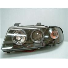 SONAR AUDI A4 B5 '96-'00 Projector Head Lamp With LED Ring