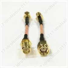 RP SMA Male Female Jack RF Coaxial Bulkhead Connector Cable Wire