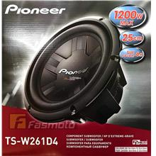 Pioneer TS-W261D4 10 Champion Series Dual Voice Coil Subwoofer 350W a