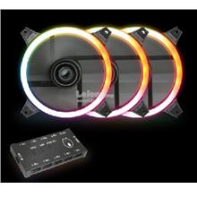 AVF GAMING FREAK HOLLO SPECTURM STARTER KIT 12CM RIING LED FAN(3PACK)