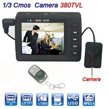 Button Camera with LCD (WBC-01A).