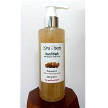 Hand Wash with Walnut Scrub (effective hand degreaser)- 220 grams