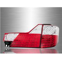 TOYOTA ALPHARD ANH10 2002 - 2004 Red Clear Lens LED Tail Lamp [TL-128]