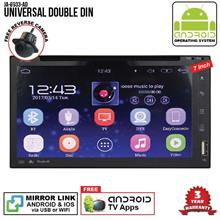 UNIVERSAL SKY NAVI 7 ANDROID Double Din GPS DVD Mirror Link Player