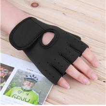 Sport Fitness Cycling Gym Half Finger Weightlifting Gloves Exercise Tr..