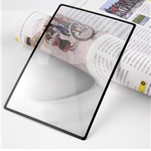 3X PVC Magnifier Sheet 180X120mm Book Page Magnifying Reading Glass Le..