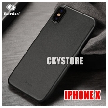 APPLE IPHONE X ORI BENKS Ultra SLIM 0.4MM Matte Case