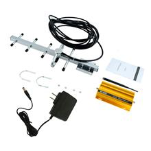 GSM 900MHz Mobile Phone Signal Booster Repeater Amplifier+Yagi Aerial
